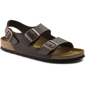 Birkenstock Milano Sandals Birko-Flor Regular, dark brown